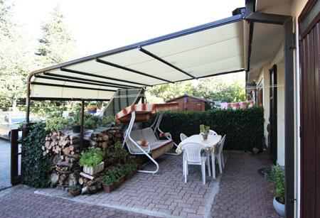 Tende Per Esterni Scorrevoli : Vendita tende da sole a bracci a cappottina veranda modena
