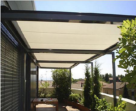Vendita tende da sole a bracci a cappottina veranda for Tenda terrazzo