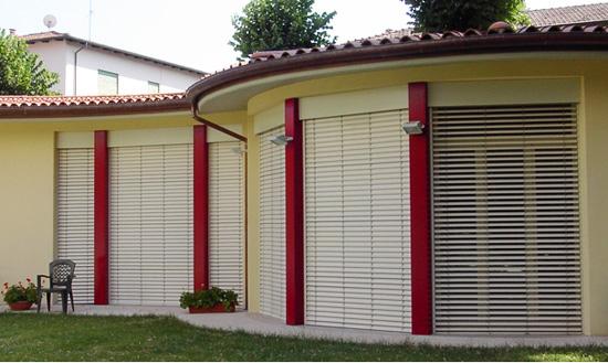 Veneziane per esterni in alluminio motorizzate bologna for Veneziane da interno